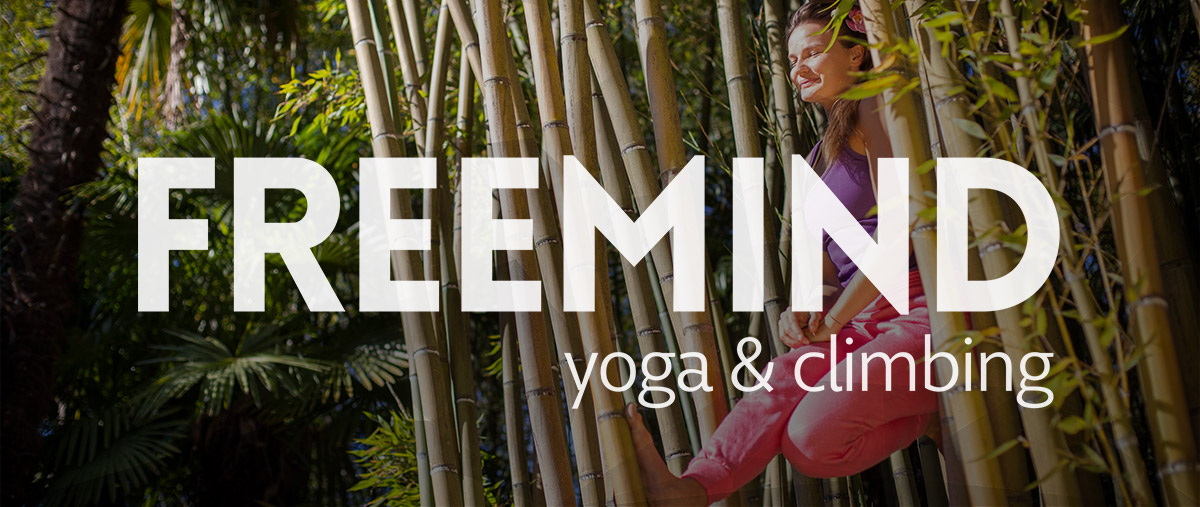 Naema Götz, Yoga & Kletterlehrerin: Try to flow, free your mind and smile.
