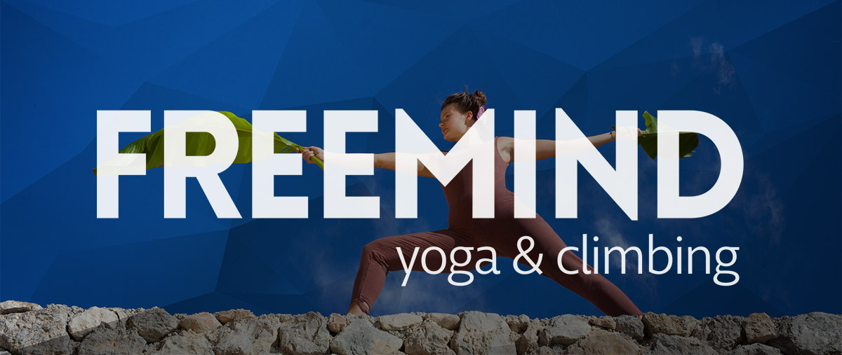 Naema Götz, Yoga & Kletterlehrerin: Free your body and mind.